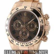 Rolex Daytona 18k Rose Gold Chocolate Dial Ref. 116505