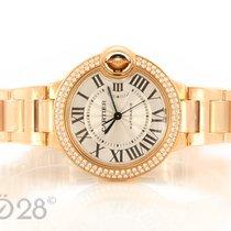Cartier NEU -40% Cartier Ballon Bleu WE902034 Roségold Diamant...
