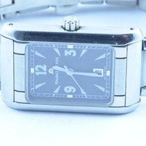 Maurice Lacroix Damen Uhr 24mm Stahl/stahl Quartz Mit Orig. Band