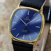Omega Accuset 1980s Mens Swiss Made Gold Plated Precision...