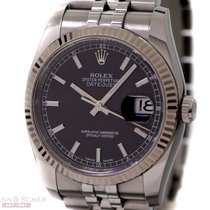 Rolex Datejust Man Size Ref-116234 Stainless Steel Box Papers...