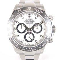 Rolex Daytona 116500 LN White dial Ceramic bezel