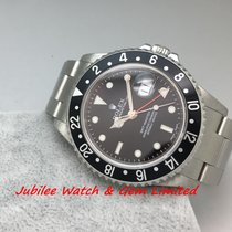 勞力士 (Rolex) Rolex 16710 GMT-Master II Steel 40mm Mint Black Bezel