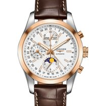 Longines CONQUEST CLASSIC CHRONOGRAPH MOONPHASE