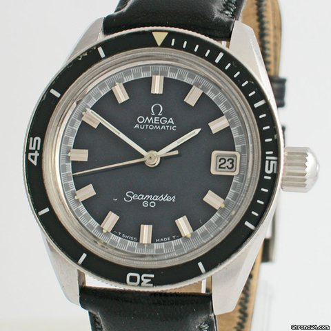Omega Seamaster 60   166.062