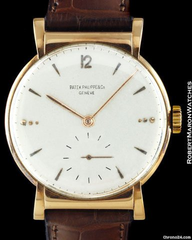 Patek Philippe Calatrava with hooded lugs