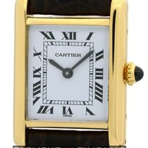 Cartier Tank Collection Tank Louis18k Yellow Gold 21mm Manual...
