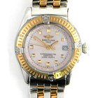 Breitling stainless steel and 18k yellow gold ladies Callastino