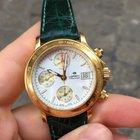 Lorenz Cronografo Automatico Chronograph Oro Gold 18k full