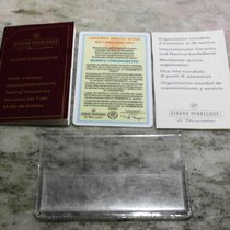 Girard Perregaux vintage kit warranty booklet and papers...