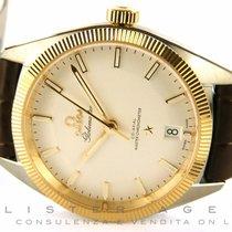 Omega Constellation Globemaster in acciaio e oro giallo 18Kt