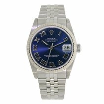 Rolex Datejust Lady 26mm Stainless Steel Blue Dial