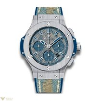 Hublot Big Bang 44 MM Jeans Stainless Steel Men's Watch