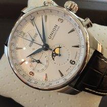 Union Glashütte Ungetragene Belisar Chronograph mit Mondphase