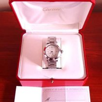 Cartier Pasha C 2324 Stainless Steel Automatic 35mm Date Watch...