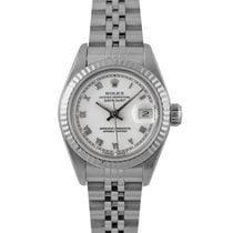Rolex Datejust Ladies Stainless Steel with White Roman Numerals