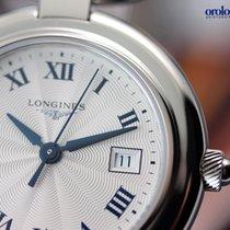 Longines Ladies' Equestrian 30mm Steel on Leather Blue...