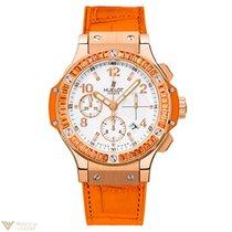 Hublot Big Bang Tutti Frutti Orange Sapphire 18K Rose Gold...