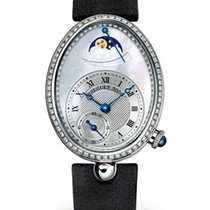 Breguet Reine de Naples 18K White Gold Diamonds Ladies Watch
