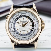 "Patek Philippe 5130R-001 World Time ""TIFFANY DIAL"" 18K..."