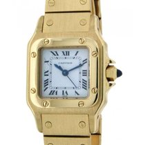 Cartier Santos Lady 26mm In 18kt Yellow Gold