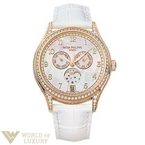 Patek Philippe Complications 38mm Rose Gold MOP Dial Lady'...