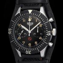Heuer Vintage Military 3H Bund chronograph