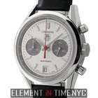 TAG Heuer Carrera Jack Heuer Chronograph 38mm Silver Dial...