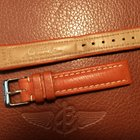 Breitling bracelet veau brun boucle ardillon
