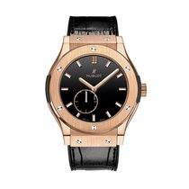 Hublot Classic Fusion King Gold Black Shiny Dial 45mm