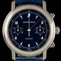Audemars Piguet 18k White Gold Blue Dial Chronograph Gents...