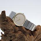 Movado Museum Damen Armbanduhr Quarz Stahl vergoldet Ref....