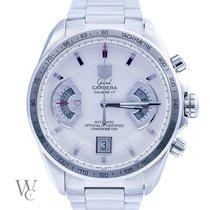 TAG Heuer Grand Carrera Chronograph Calibre 17 White Dial