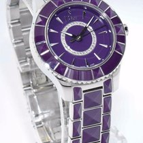 Dior Purple Christal CD143112M001 - Ladies Watch with Diamonds...