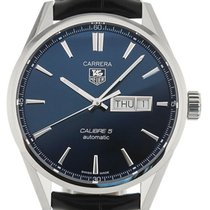 TAG Heuer Carrera 41 Automatic Blue Dial Leather