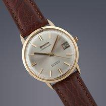 Bulova Ambassador 18ct yellow gold automatic watch