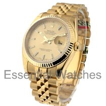 Rolex Unworn 116238 Mens Yellow Gold Datejust with Jubilee...