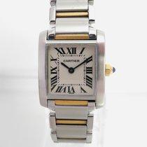 Cartier Tank Francaise Stahl/Gold Revisioniert