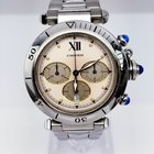Cartier Pasha quartz Chronograph Stainless Steel NICE