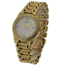 Piaget Ladies 26mm Polo with Diamond Bezel and Bracelet