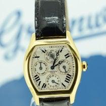 Cartier Tortue Perpetual Calendar Dual Time