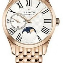 Zenith Captain Ultra Thin Lady Moonphase 33mm rose gold