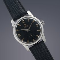 Omega stainless steel automatic watch