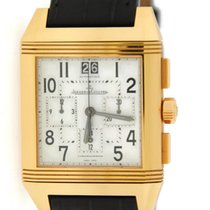 Jaeger-LeCoultre Reverso Squadra GMT Chronograph 18K Yellow Gold