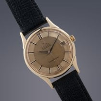 Omega Constellation 'Pie-pan' 18ct gold case and dial...