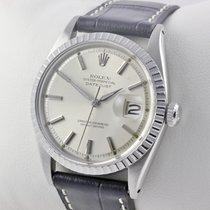 Rolex Datejust Edelstahl 36mm Herrenuhr Service 10/16
