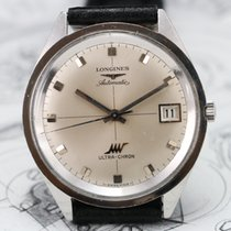Longines ULTRA-CHRON Cal 431 JUMBO 37mm Vintage Watch in Steel