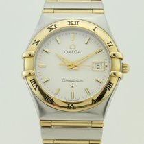 Omega Constellation Quart Steel and 18K Gold Lady
