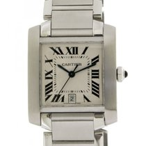 Cartier Tank Francaise W51002q3 Automatic Steel