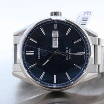 TAG Heuer Calibre 5 Carrera Automatic Blue Dial Day-Date...